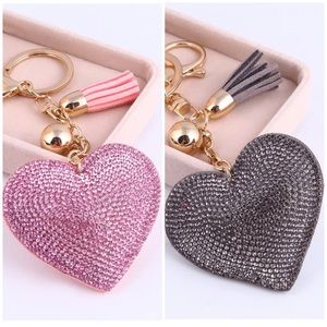 Accessories - 💕SPARKLING HEART KEY CHAINS💕
